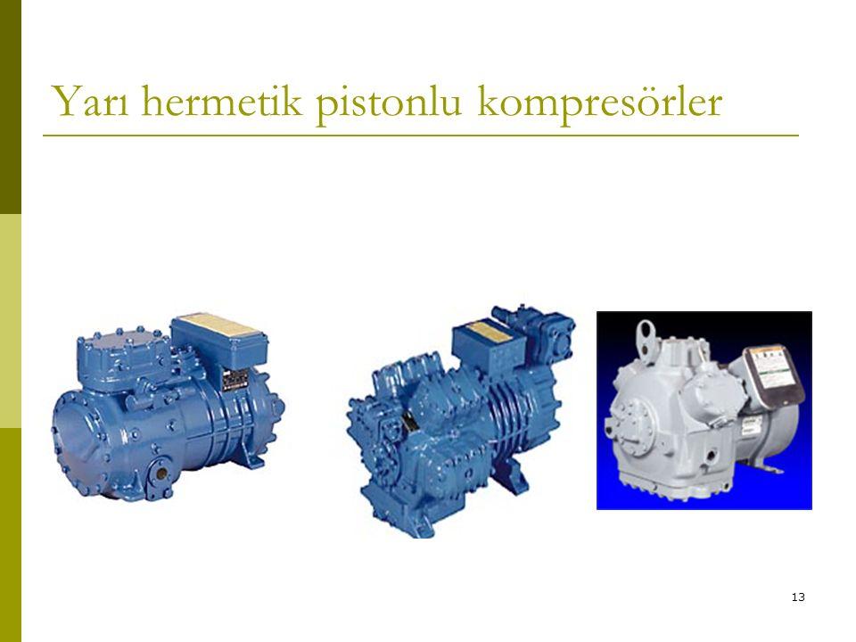 Yarı hermetik pistonlu kompresörler