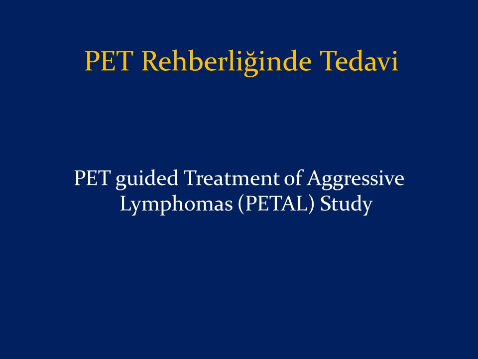 PET Rehberliğinde Tedavi