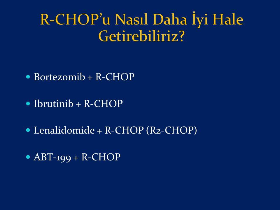 R-CHOP'u Nasıl Daha İyi Hale Getirebiliriz