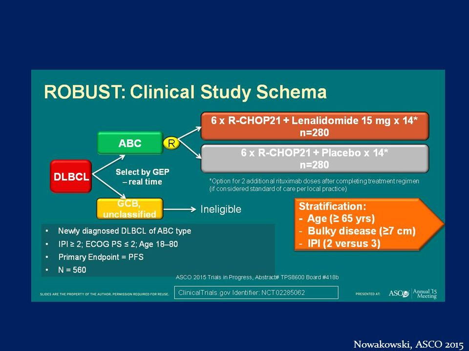 ROBUST: Clinical Study Schema