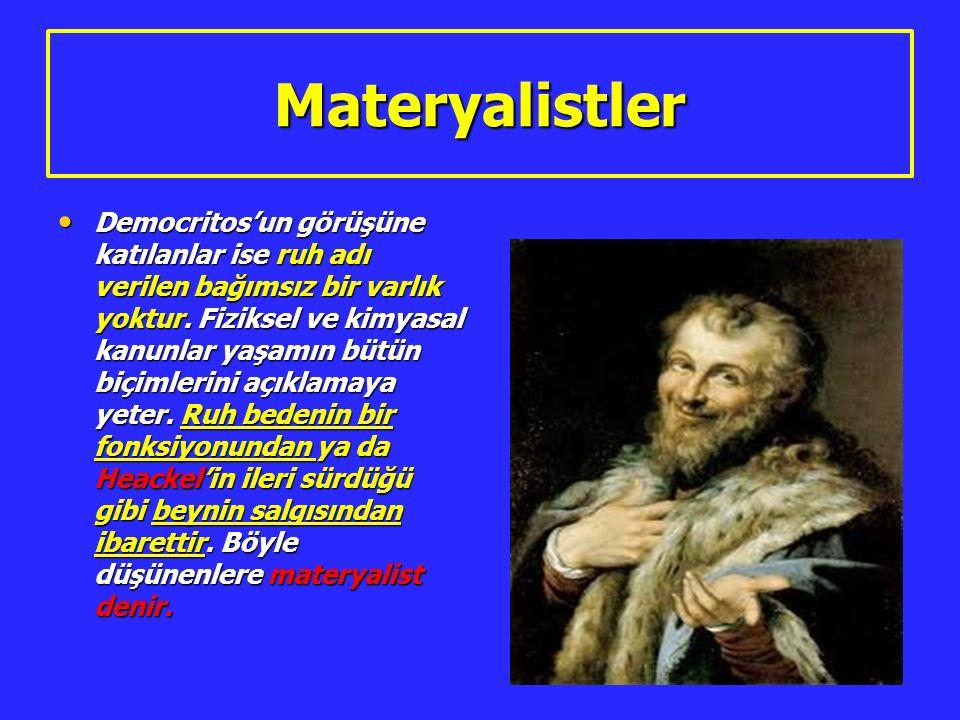 Materyalistler