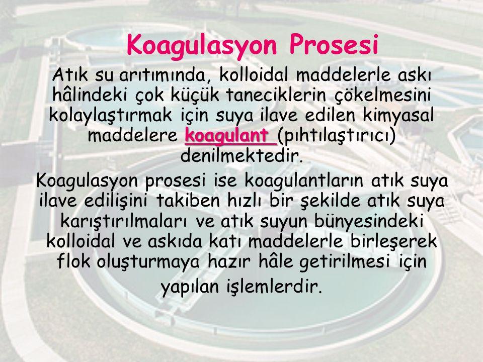 Koagulasyon Prosesi