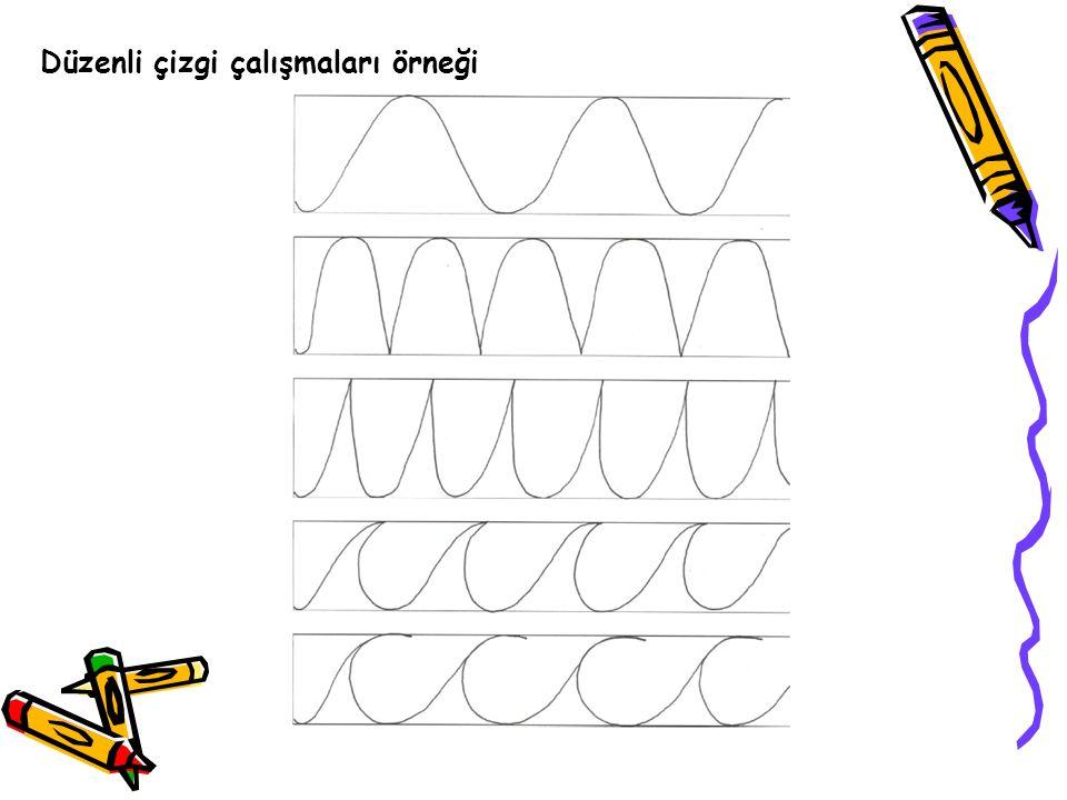 Düzenli çizgi çalışmaları örneği