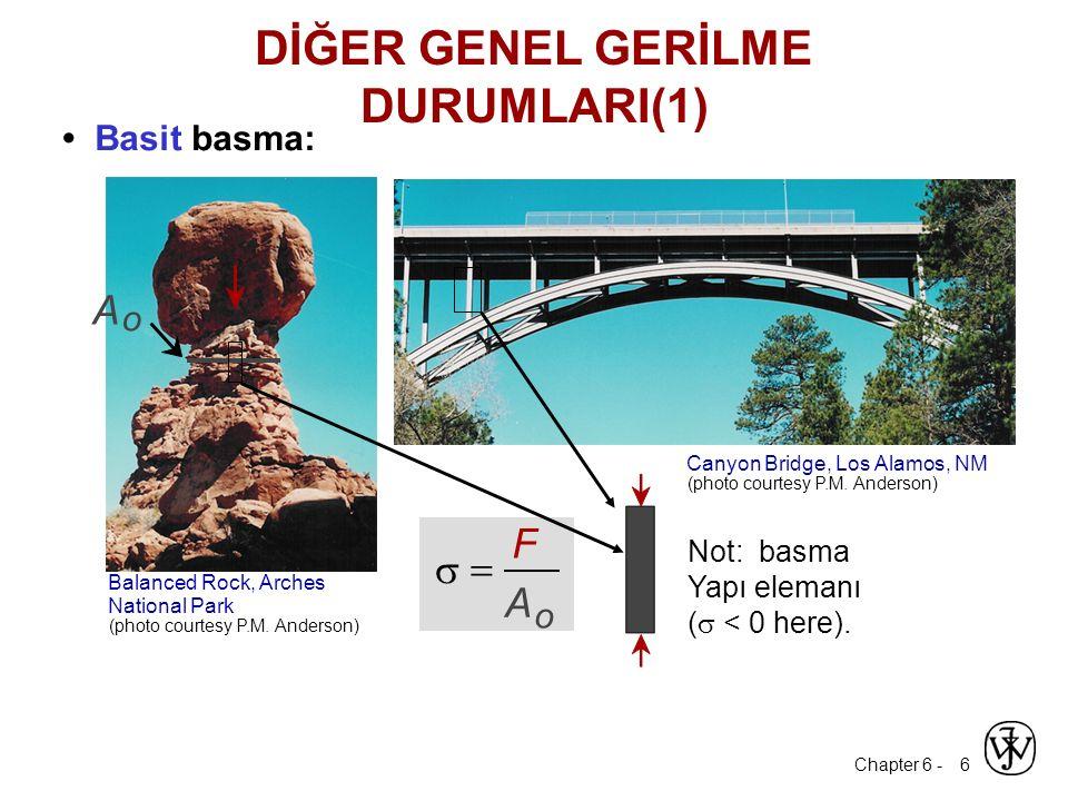 DİĞER GENEL GERİLME DURUMLARI(1)