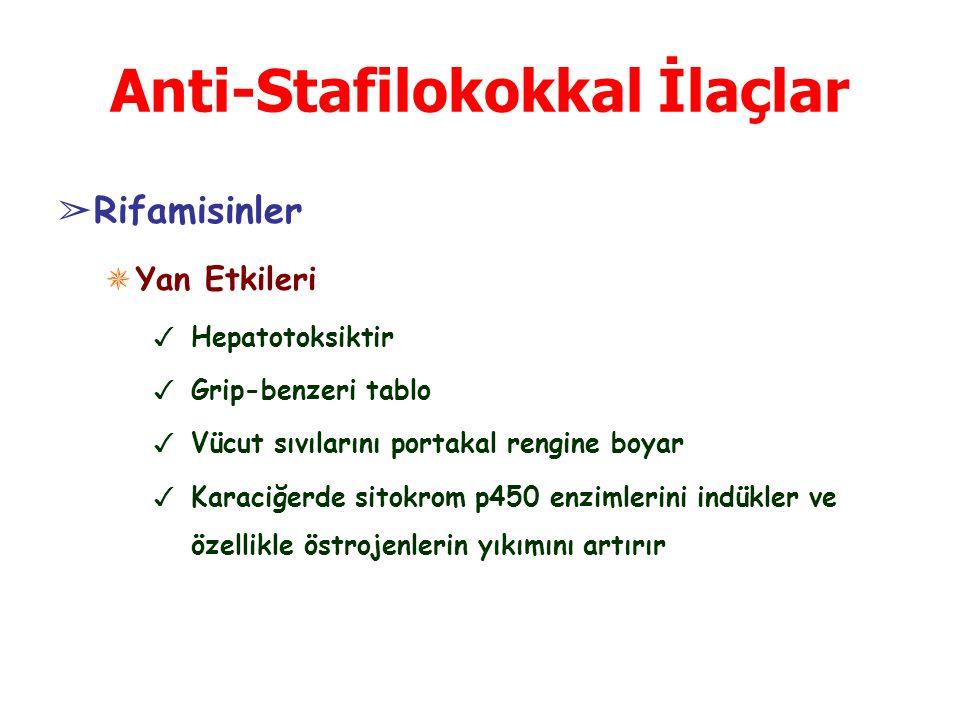 Anti-Stafilokokkal İlaçlar