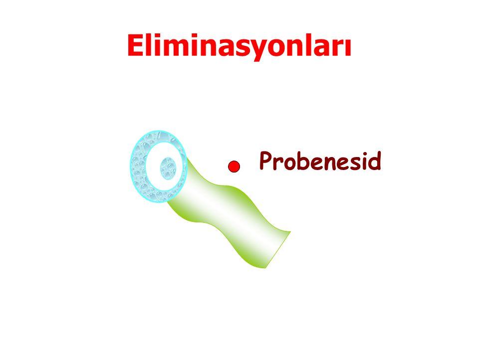 Eliminasyonları Probenesid