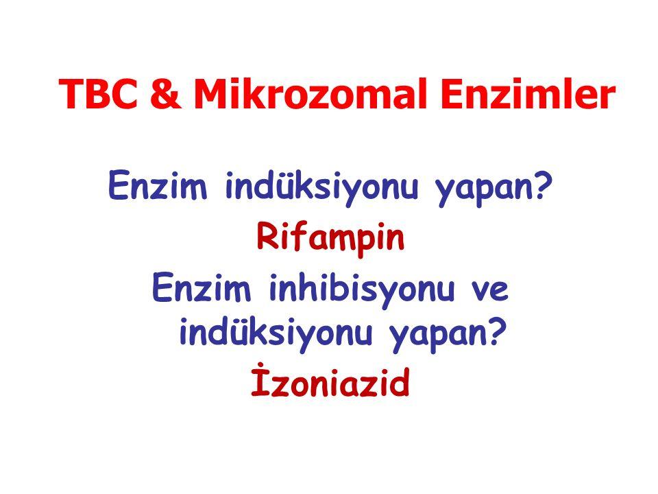 TBC & Mikrozomal Enzimler