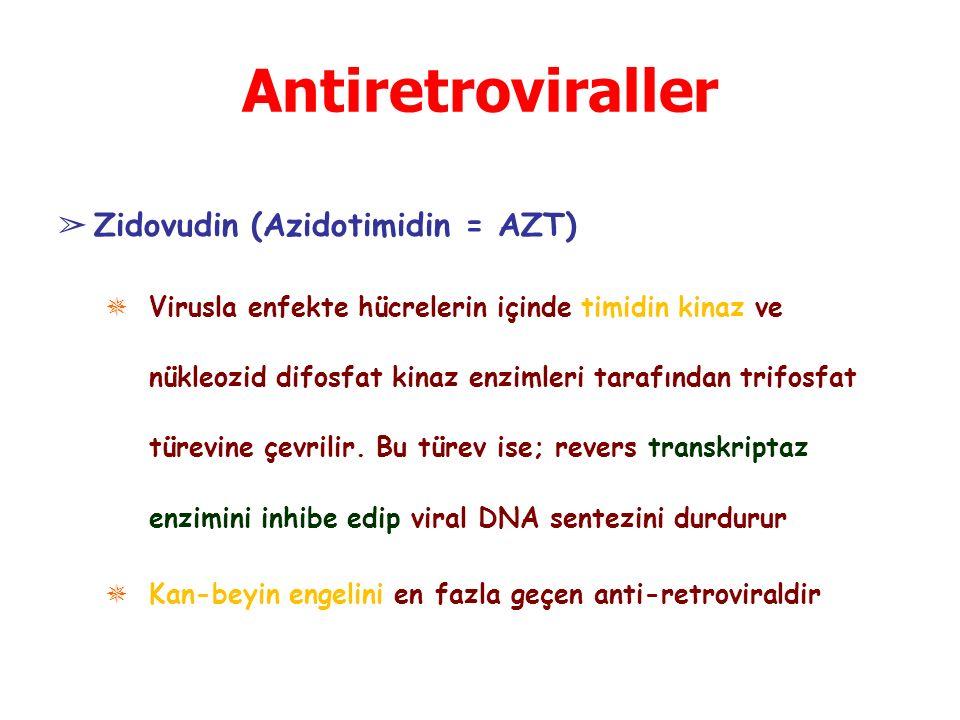Antiretroviraller Zidovudin (Azidotimidin = AZT)