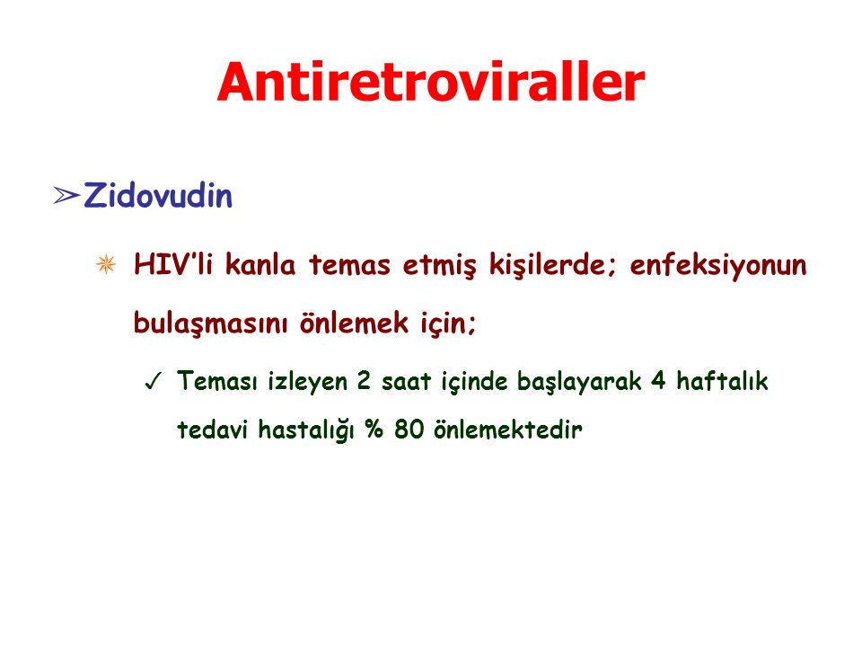 Antiretroviraller Zidovudin