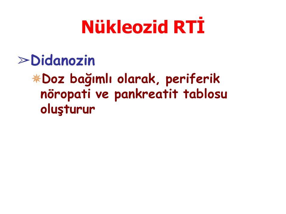 Nükleozid RTİ Didanozin
