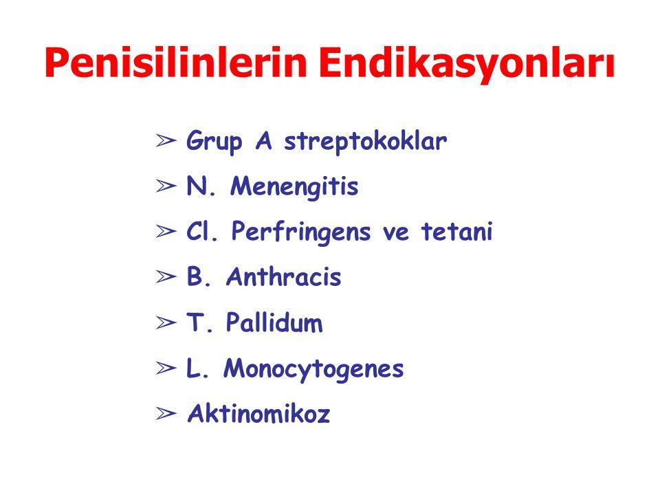 Penisilinlerin Endikasyonları