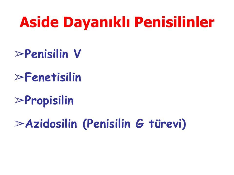 Aside Dayanıklı Penisilinler