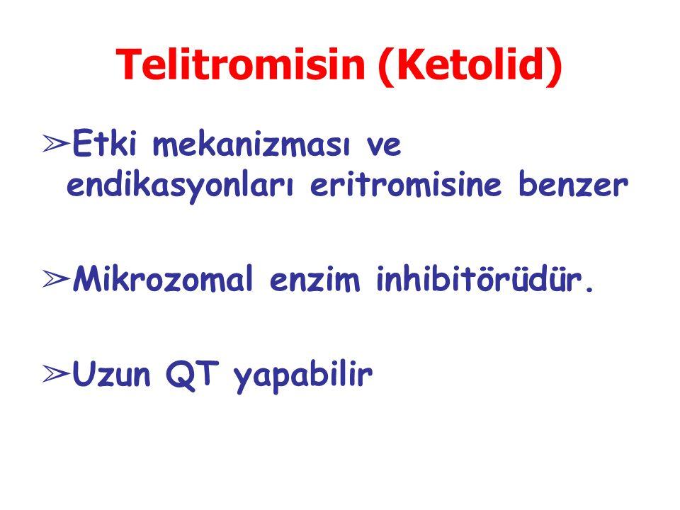 Telitromisin (Ketolid)