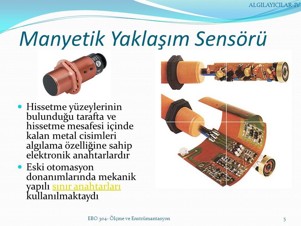 Manyetik Yaklaşım Sensörü
