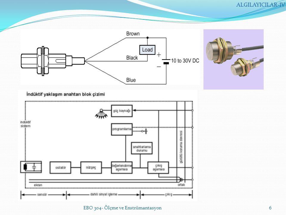 ALGILAYICILAR-IV EBO 304- Ölçme ve Enstrümantasyon