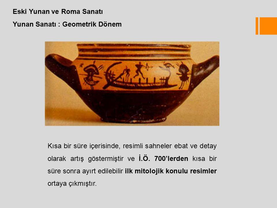 Eski Yunan ve Roma Sanatı