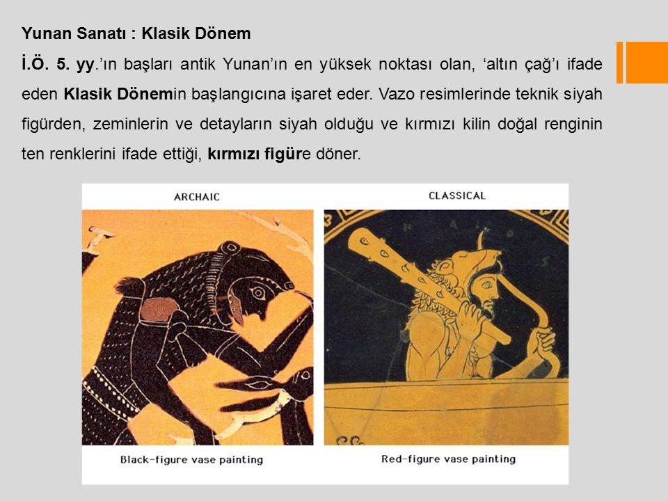 Yunan Sanatı : Klasik Dönem