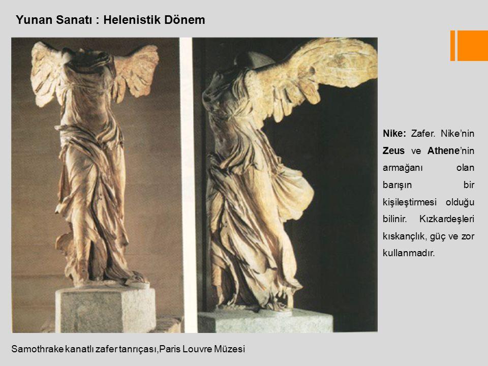 Yunan Sanatı : Helenistik Dönem