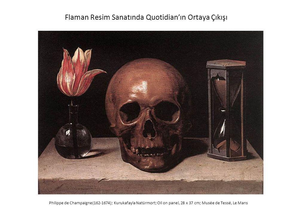 Flaman Resim Sanatında Quotidian'ın Ortaya Çıkışı