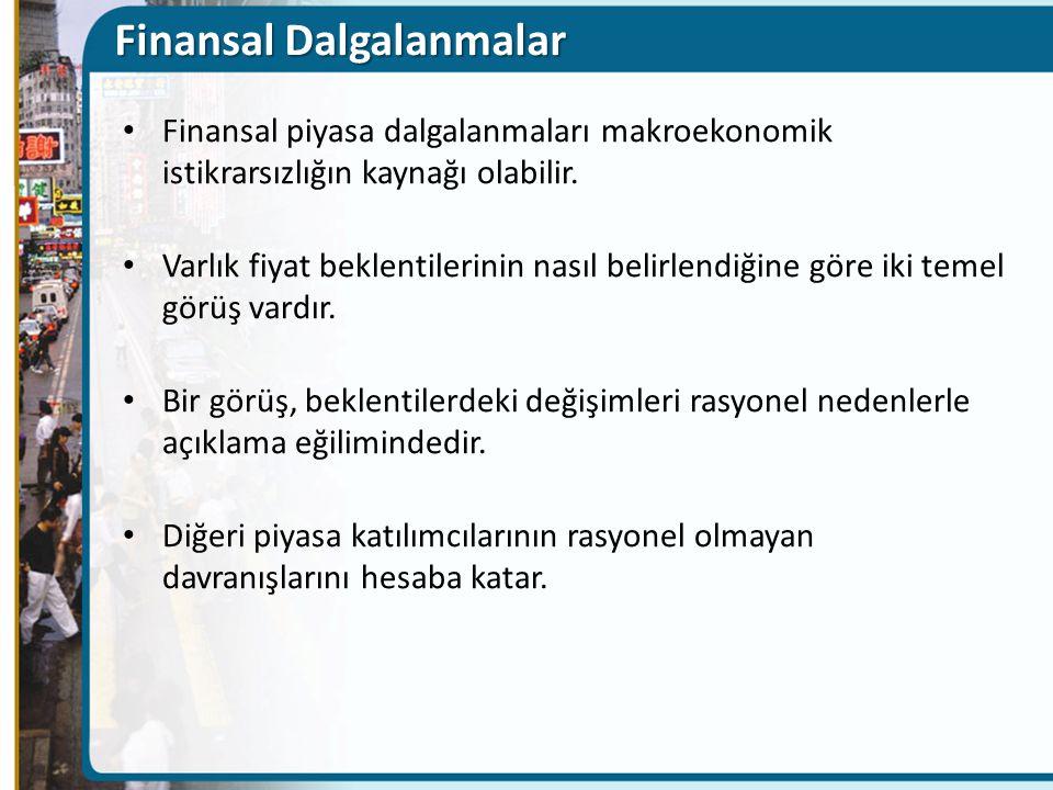 Finansal Dalgalanmalar