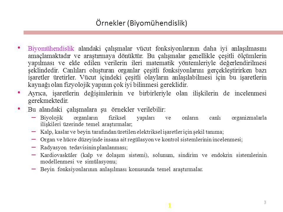 Örnekler (Biyomühendislik)