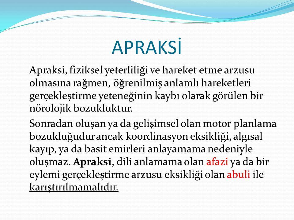 APRAKSİ