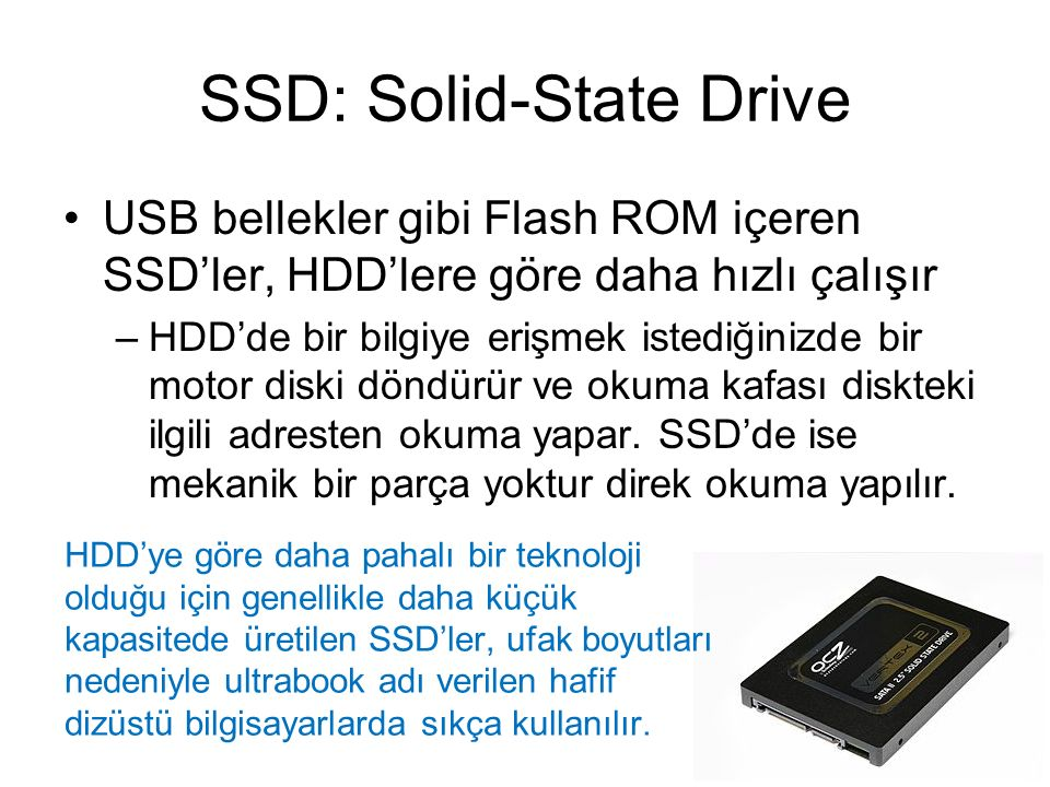 SSD: Solid-State Drive