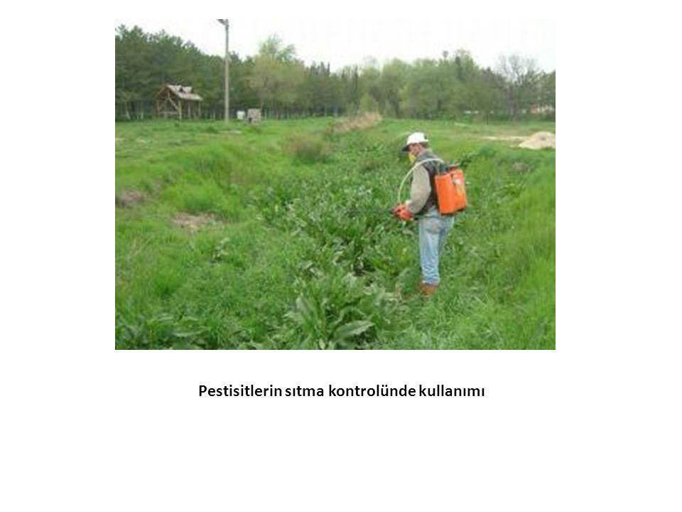 Pestisitlerin sıtma kontrolünde kullanımı