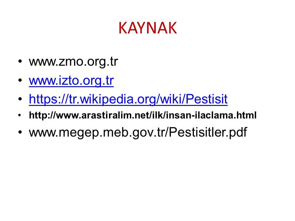 KAYNAK www.zmo.org.tr www.izto.org.tr