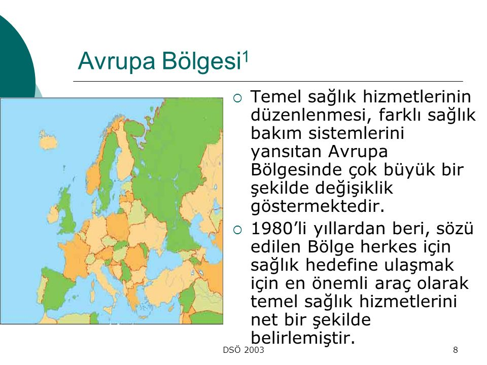Avrupa Bölgesi1