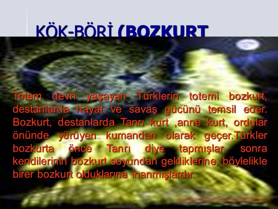 KÖK-BÖRİ (BOZKURT