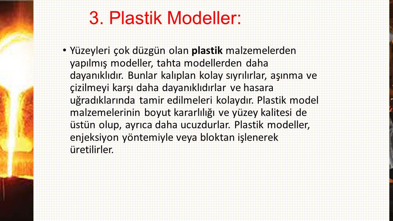 3. Plastik Modeller: