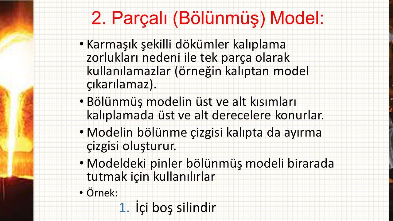 2. Parçalı (Bölünmüş) Model: