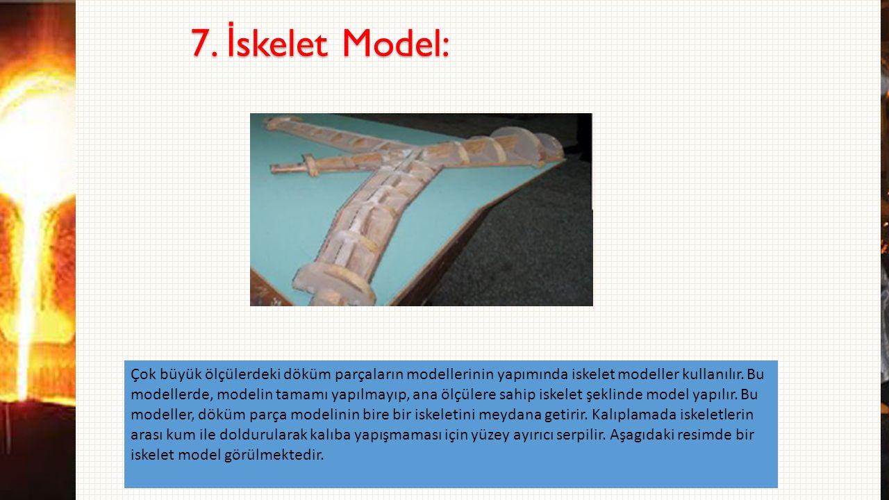 7. İskelet Model: