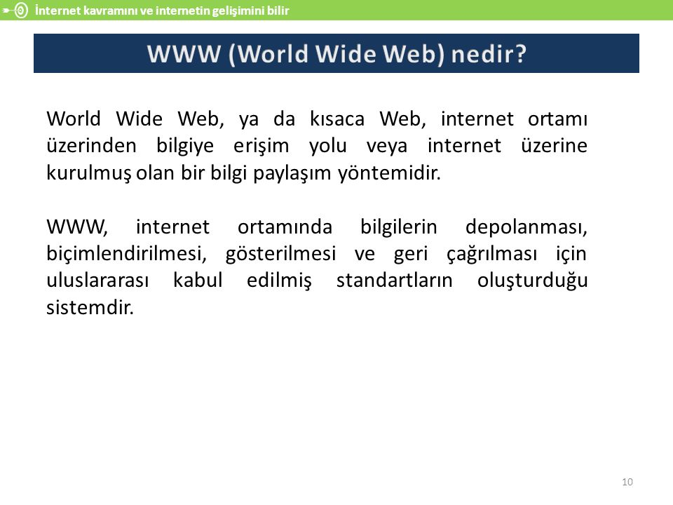 WWW (World Wide Web) nedir