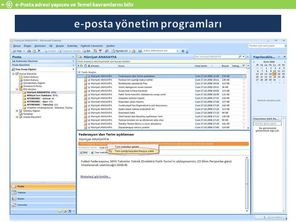 e-posta yönetim programları