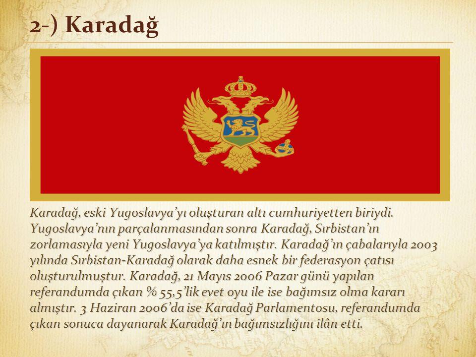 2-) Karadağ