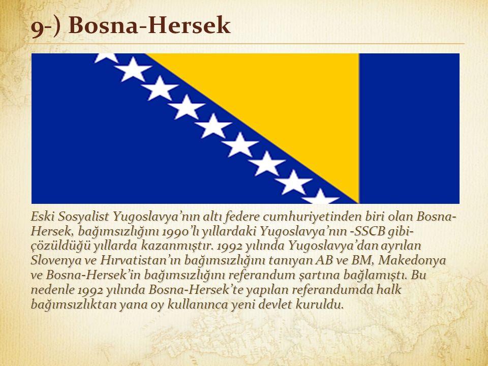 9-) Bosna-Hersek