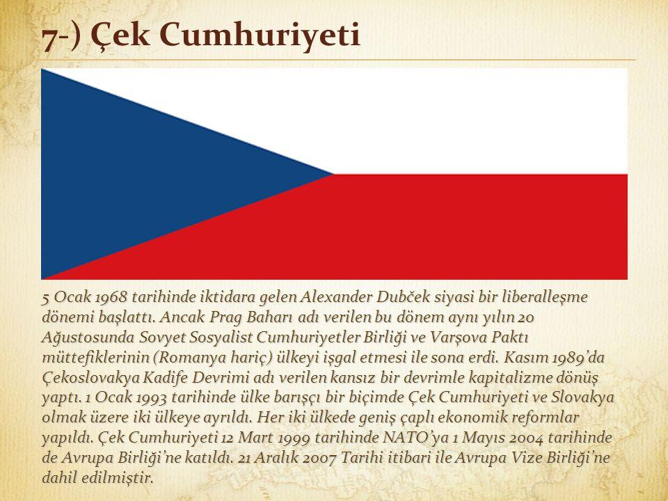 7-) Çek Cumhuriyeti