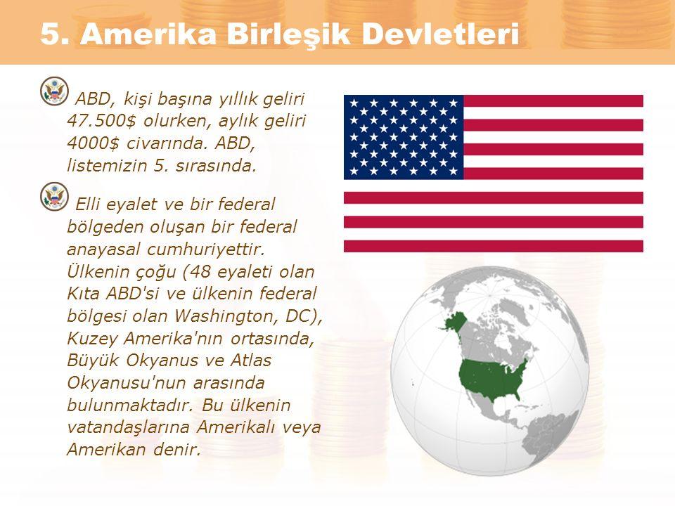 5. Amerika Birleşik Devletleri