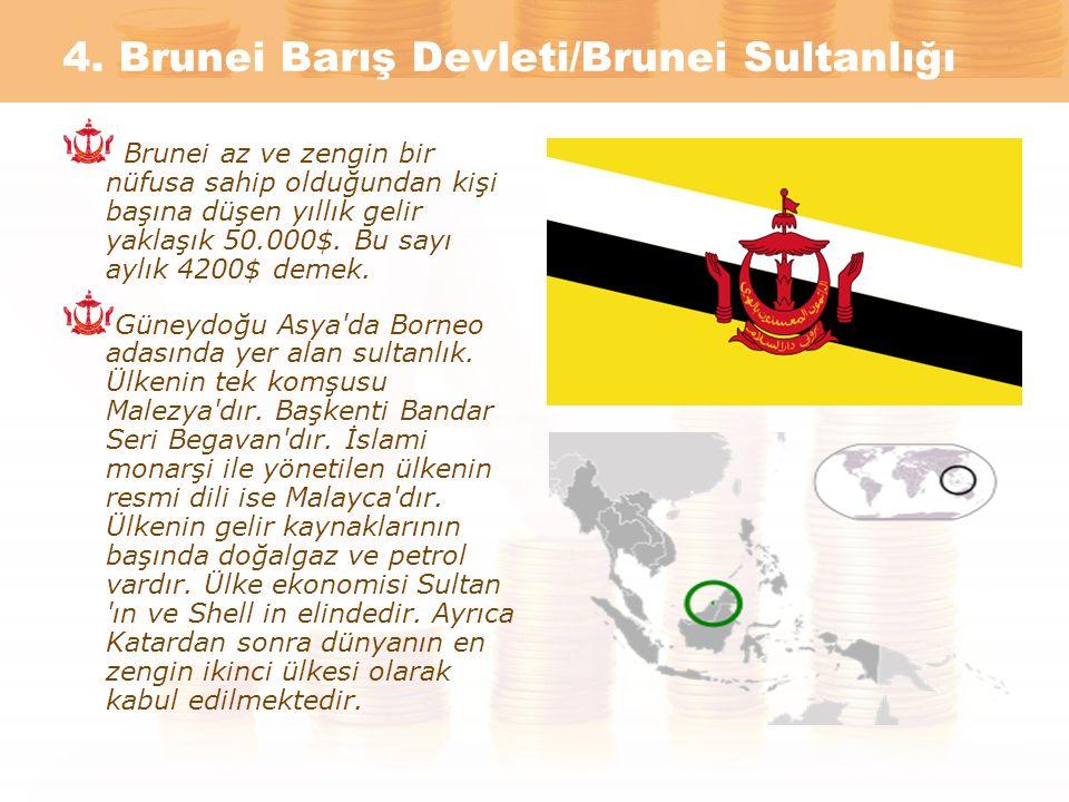 4. Brunei Barış Devleti/Brunei Sultanlığı