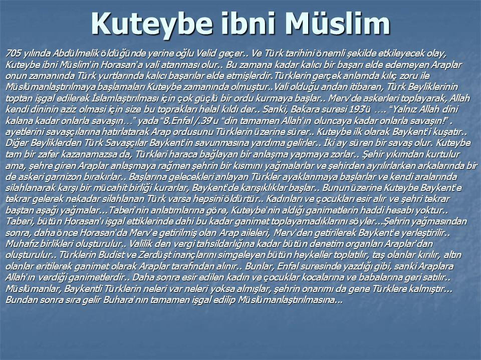 Kuteybe ibni Müslim