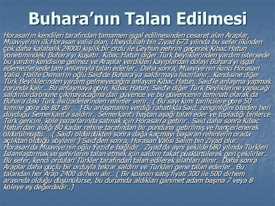 Buhara'nın Talan Edilmesi