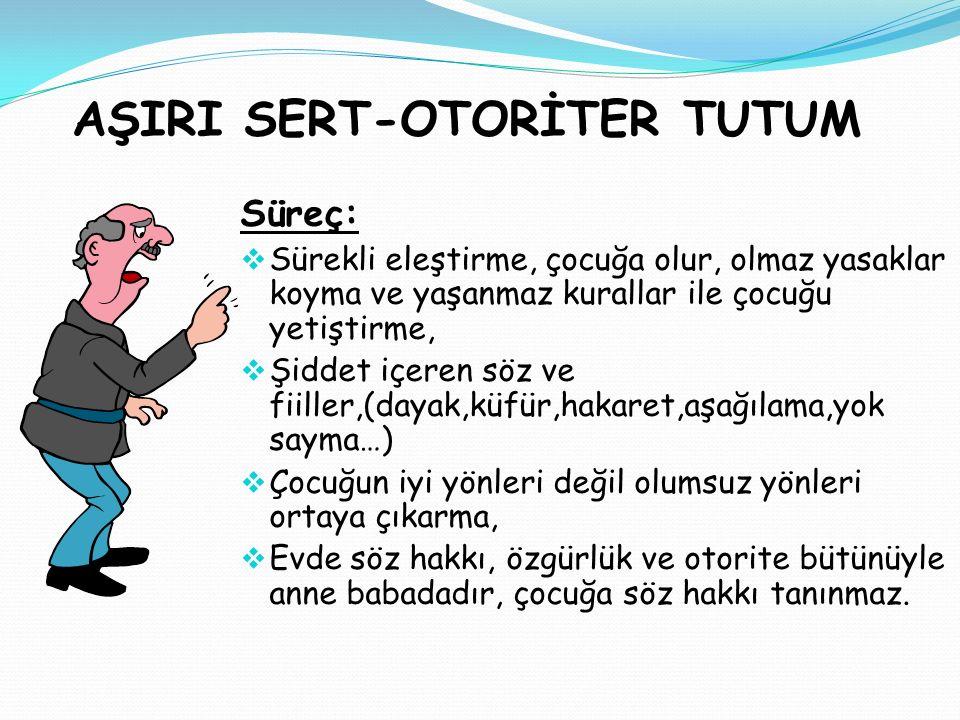 AŞIRI SERT-OTORİTER TUTUM