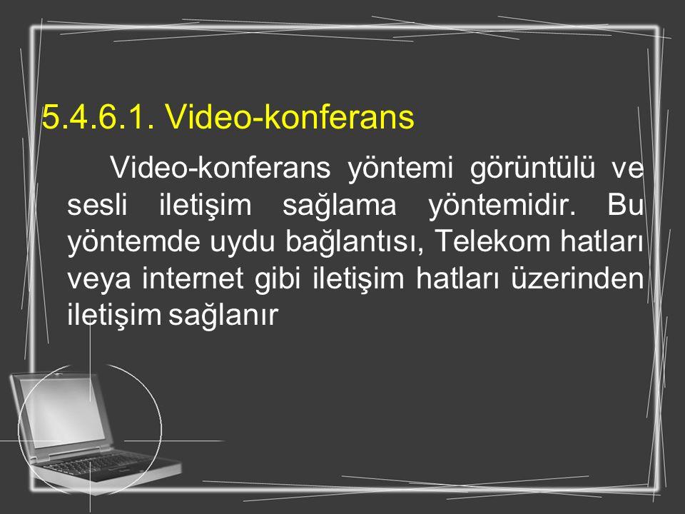 5.4.6.1. Video-konferans