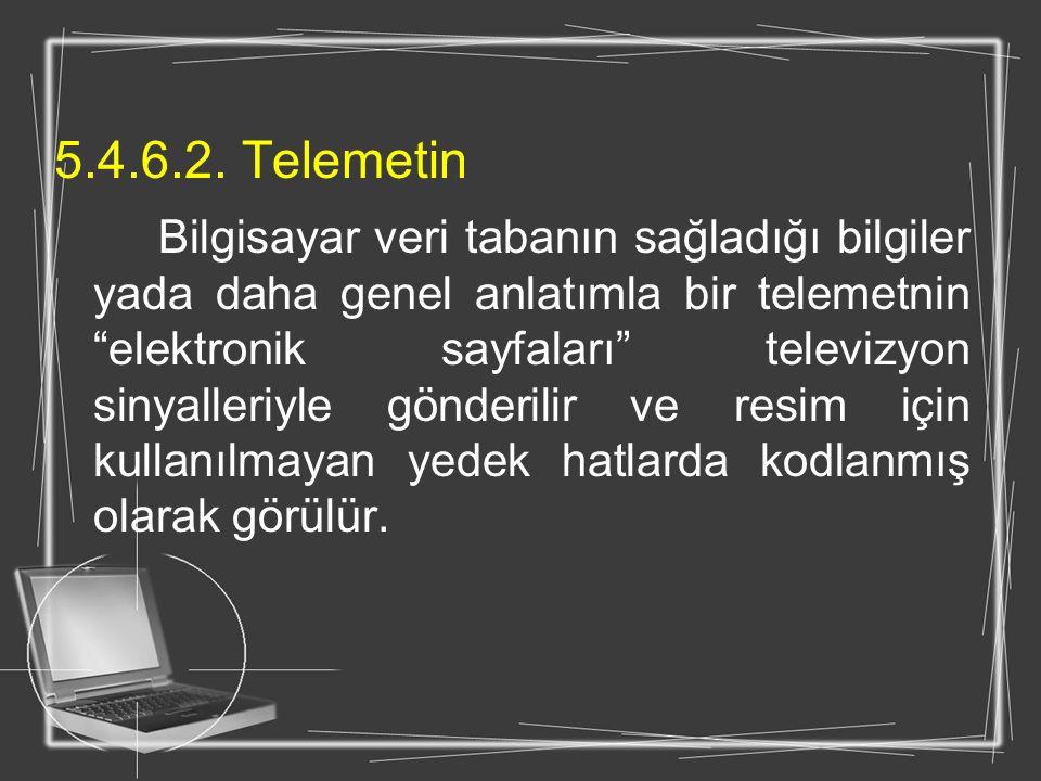 5.4.6.2. Telemetin