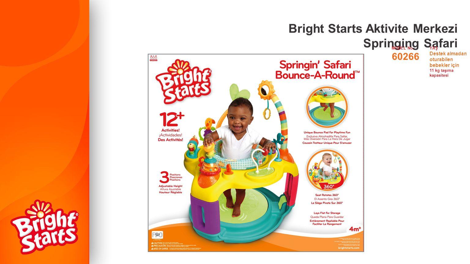 Bright Starts Aktivite Merkezi Springing Safari