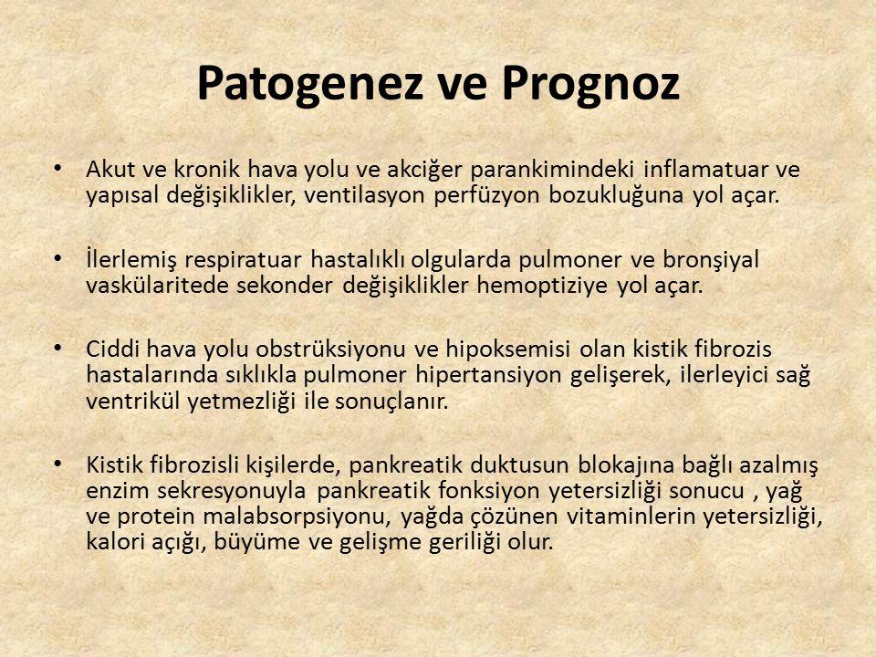 Patogenez ve Prognoz