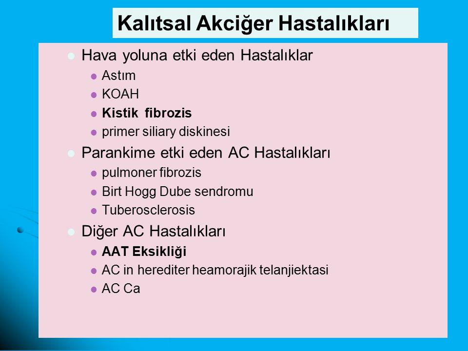 Kalıtsal Akciğer Hastalıkları