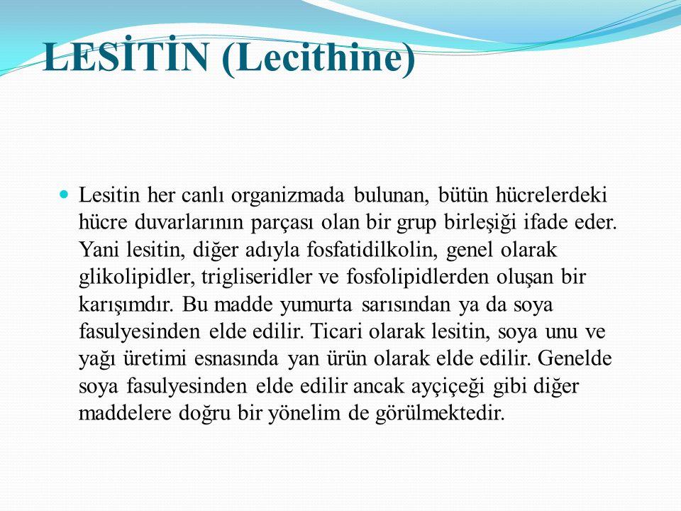 LESİTİN (Lecithine)